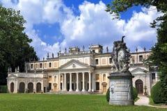 Chalet Pisani, chalets venecianos famosos en la región de Véneto (Italia) Imagen de archivo libre de regalías