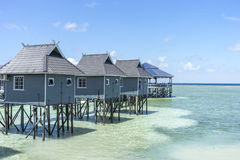 Chalet Resort Royalty Free Stock Photography