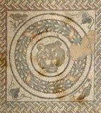 Chalet romano del fragmento del mosaico fotos de archivo libres de regalías