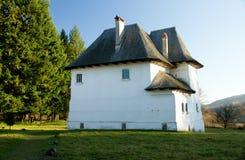 Chalet rumano fortificado foto de archivo libre de regalías