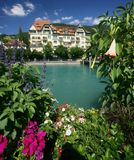 Chalet suizo Fotografía de archivo libre de regalías