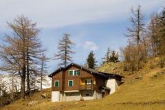 Chalet suizo 3 Imagen de archivo libre de regalías