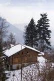Chalet svizzero Fotografia Stock