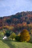 Chalet svizzero della montagna fotografie stock