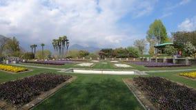 Chalet Taranto, Italia de los jardines botánicos Lapso de tiempo 4K almacen de video
