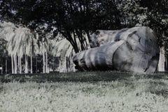 Chalet Torlonia en Roma Imagen de archivo libre de regalías