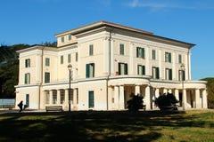 Chalet Torlonia en Roma Imagen de archivo