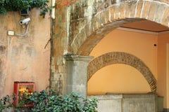 Chalet Torlonia en Roma Fotos de archivo
