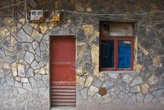 Chalet tradizionale Fotografia Stock Libera da Diritti