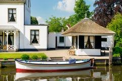 Chalet viejo en Holanda Imagen de archivo