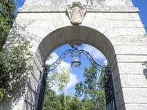 Chalet Vizcaya, Miami imagenes de archivo