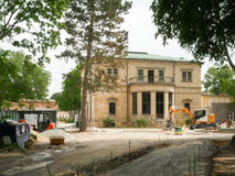 Chalet Wahnfried Bayreuth - Richard Wagner Museum Imagenes de archivo