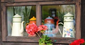 Chalet Window Stock Photography