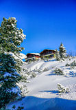 Chalets Royalty Free Stock Photography