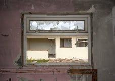 Chalets détruits de vacances Image stock