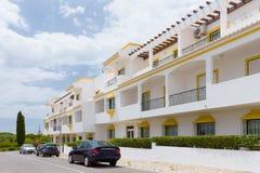 Chalets de Algarve imagen de archivo libre de regalías