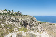 Chalets de las vacaciones en Alicante, España Foto de archivo libre de regalías