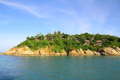 Chalets de lujo en Koh Samui - Tailandia imagen de archivo