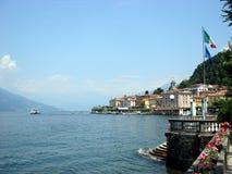 Chalets elegantes de Bellagio, Lago di Como, Italia Imagen de archivo