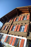 chaletschweizare Royaltyfri Bild