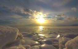 Chaleurs de DES de Baie près de la mer Photographie stock