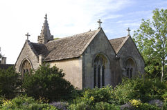 chalfield kyrklig stor uk wiltshire Royaltyfria Bilder