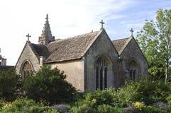 chalfield kyrklig stor uk wiltshire Royaltyfria Bilder