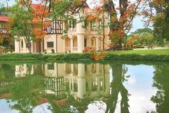 Chali Mongkol Asana located in Sanamchan Palace, Thailand. Royalty Free Stock Images