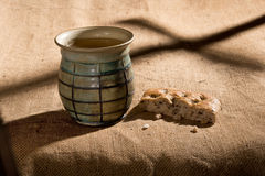 Chalice And Bread Stock Images