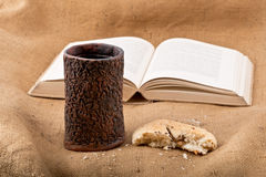 Chalice And Bread Stock Image
