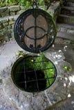 Chalice Dobrze w Glastonbury Zdjęcia Royalty Free
