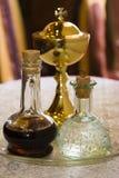 Chalice, vinho, água Fotos de Stock