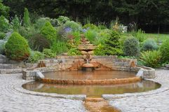 Chalice Well; Red Fountain Stock Photography