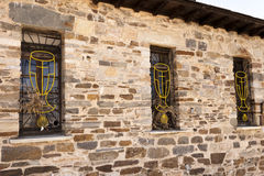Chalice Windows Royalty Free Stock Images