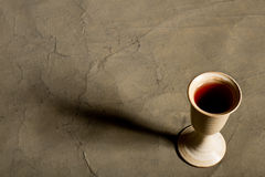 Chalice of wine Stock Photography