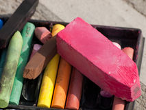 Chalk Royalty Free Stock Photography