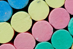 Chalk. Royalty Free Stock Images