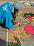 Chalk Art Festival Royalty Free Stock Images
