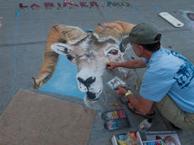 Chalk Art Festival Royalty Free Stock Image