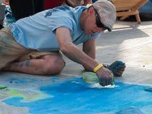 Chalk Art Festival Stock Photos
