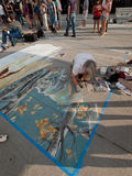 Chalk Art Festival Royalty Free Stock Photos