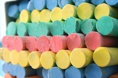 Chalk Background Stock Photo