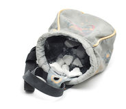 Chalk bag Royalty Free Stock Photography
