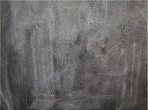 Chalk black empty blackboard Stock Images