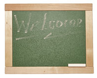 Chalk on a blackboard Royalty Free Stock Photos