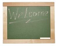Chalk on a blackboard Royalty Free Stock Photos