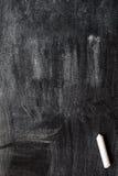 Chalk on a blackboard Stock Image