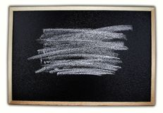 Chalk on board Royalty Free Stock Photo