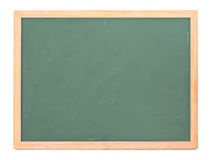 Chalk board. School chalk board on white background Stock Image
