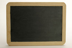 Chalk board. Empty chalk board for own message Royalty Free Stock Images